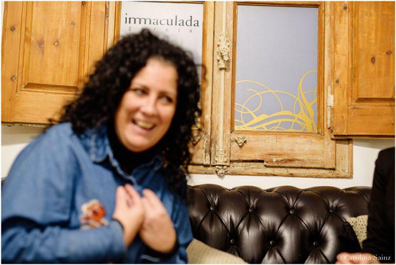 Inmaculada Garcia smiling