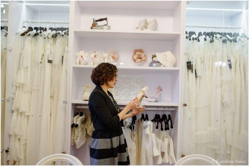 Laura Perez loving Inmaculada Garcia's shoe line