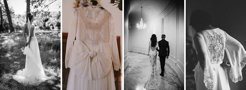 Alicia Rueda wedding dresses 4 designs