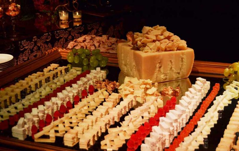 Cheese Buffet Table
