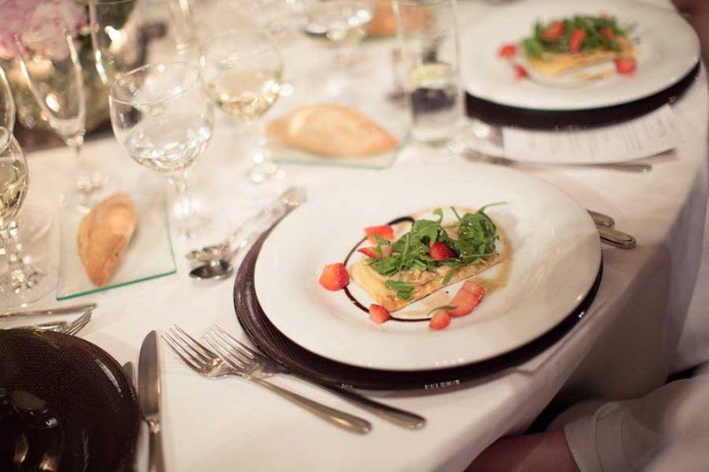 Spanish wedding catering