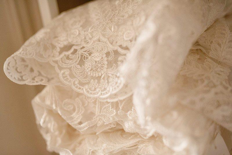 Wedding dress fabric
