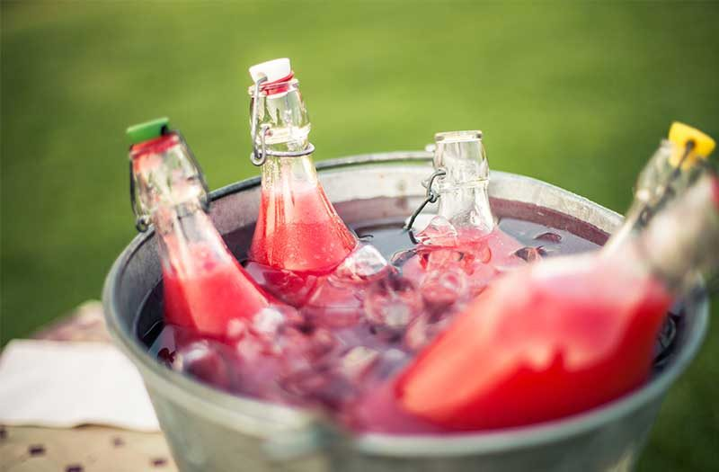 sangria-chilled-in-ice-buckets