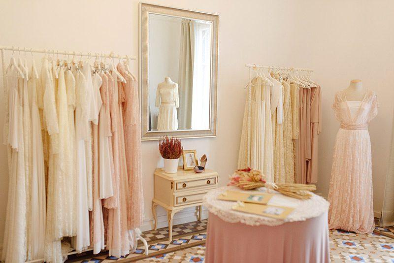 Mimetik BCN atelier showroom mirror