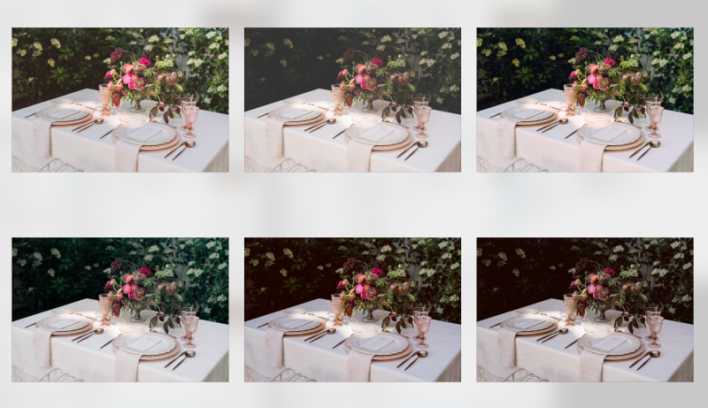 How using different filters change the look of a photo