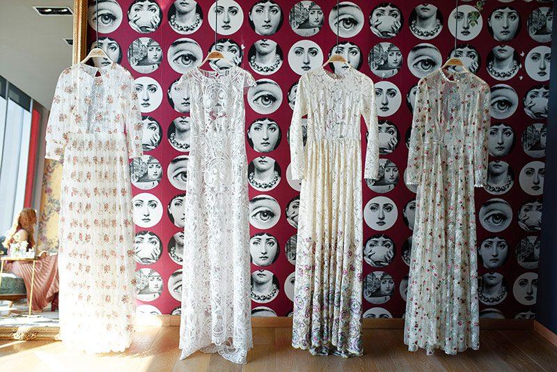 Imma Cle showroom dresses