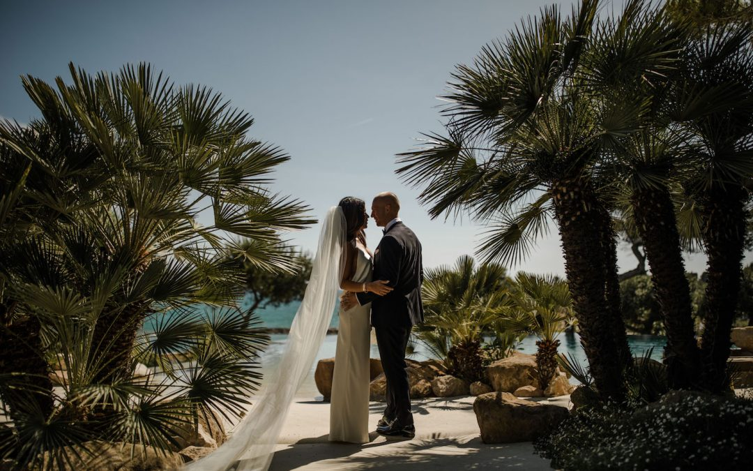 Chic, Intimate wedding at Xalet del Nin