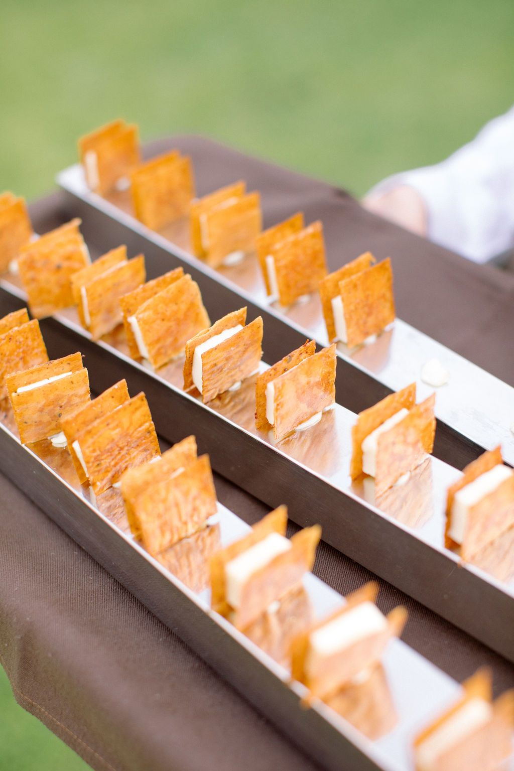 Tasty cocktail bites catered by Catering Sensacions