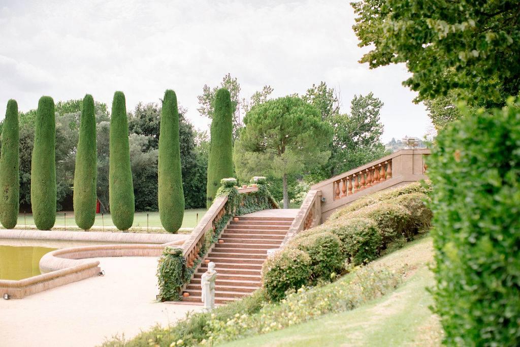 Dreamy manicured gardens at Castell de Sant Marçal