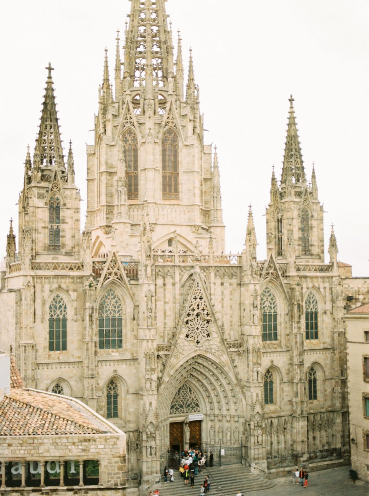 Historic Cathedral in Barcelona