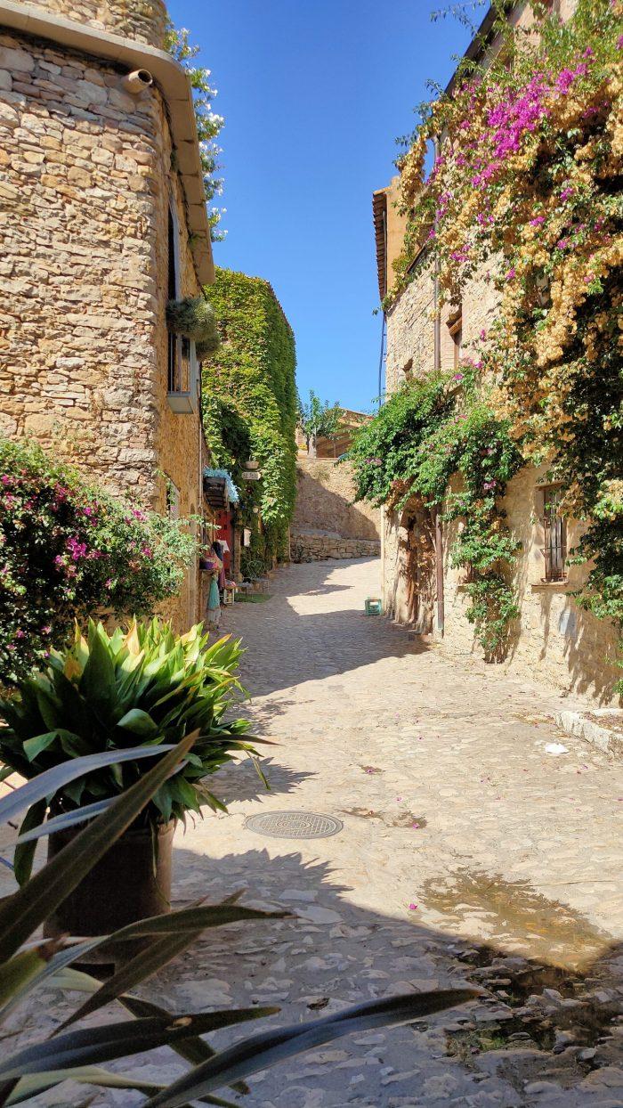Medival town of Peratallada