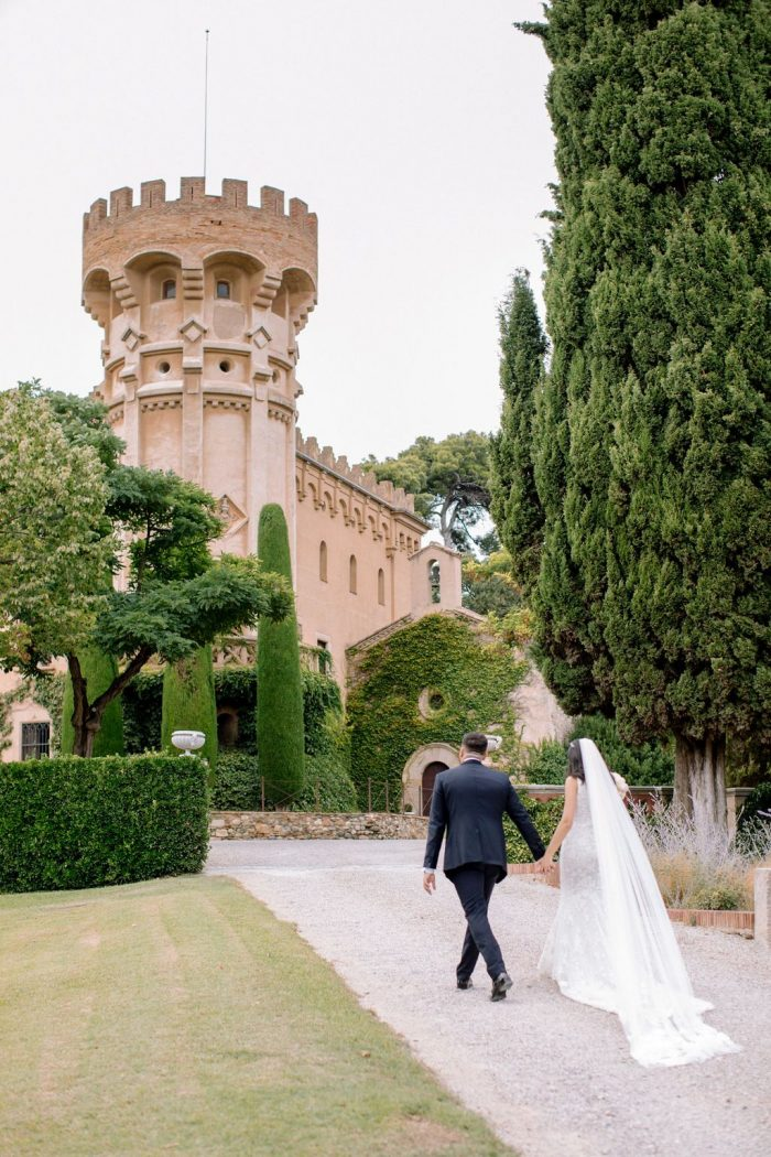 Destination wedding at Castell de Sant Marçal