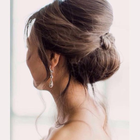 Beauitful updo bride