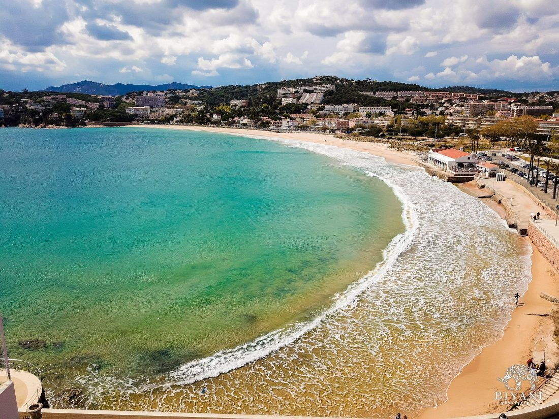 The beautiful coast of the Costa Brava