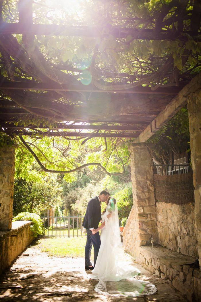 Couple at La Baronia