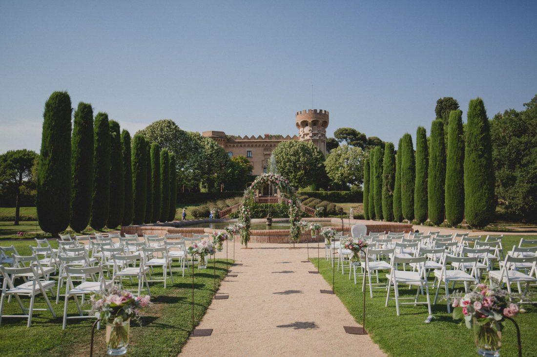 Barcelona Wedding Venue Castell de Sant Marçal